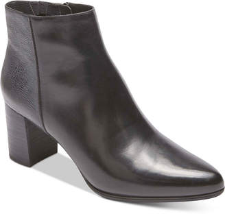 Rockport Women's Total Motion Lynix Block Heel Booties
