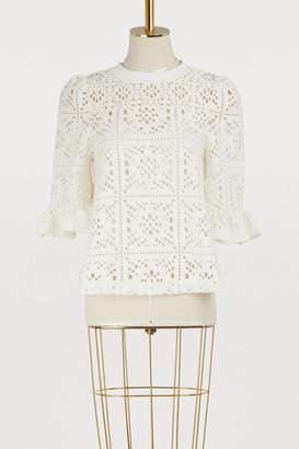 See by Chloé Openwork top