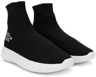 Douuod Kids logo sock sneakers