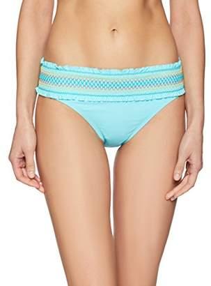 Bleu Rod Beattie Women's Hipster Smocked Band Bikini Bottom