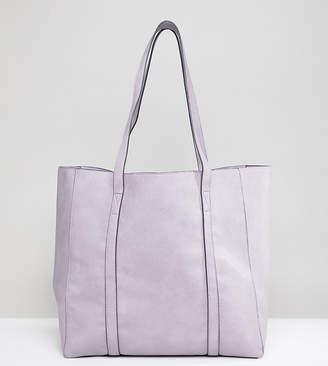 Accessorize Lilac Oversized Tote Bag