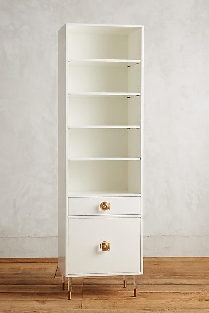 Anthropologie Tracey Boyd Lacquered Regency Bath Cabinet, Large