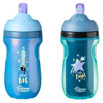 Tommee Tippee Insulated Straw Toddler Tumbler Sippy Cup 12+ months - 9oz - 2pk