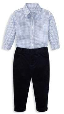 Ralph Lauren Boy's Two-Piece Dress Shirt& Pants Set