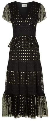 Temperley London Wondering Lace Midi Dress