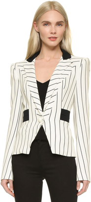 Mugler Striped Blazer $2,115 thestylecure.com