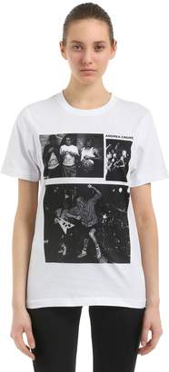 Andrea Crews Pablo Cots Minor Threat Jersey T-Shirt