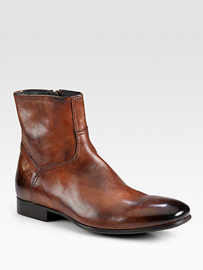 To Boot Randy Leather Side-Zip Boot