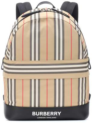 Burberry Icon Stripe nylon backpack