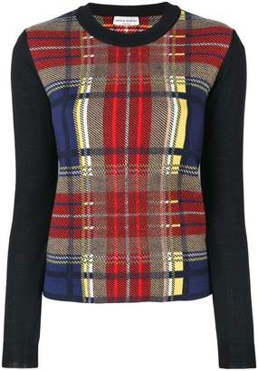 Sonia Rykiel tartan sweater