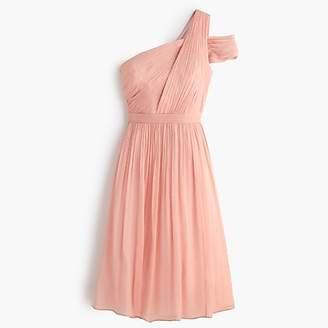 J.Crew Cara dress in silk chiffon