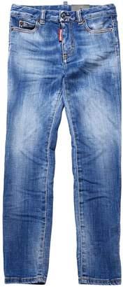 DSQUARED2 Slim Fit Faded Stretch Denim Jeans