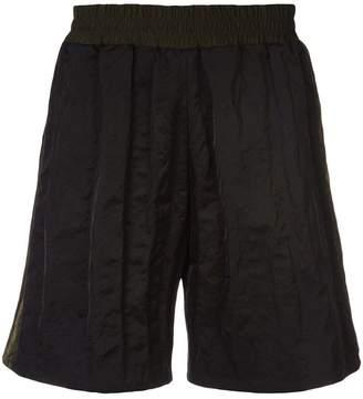 Maison Margiela colour block track shorts