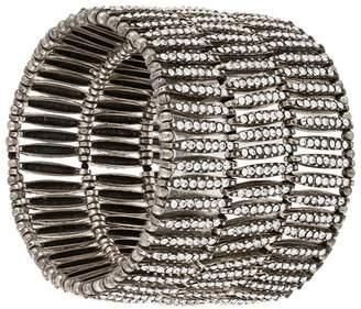 Philippe Audibert elasticated embellished bracelet