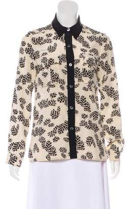 Marc by Marc Jacobs Silk Floral Top