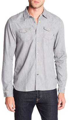 Scotch & Soda Classic Snap Button Down Shirt
