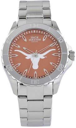 Jack Mason Men's Texas Longhorns Color Sport Bracelet Watch