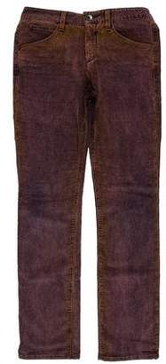 Theyskens' Theory Corduroy Mid-Rise Jeans