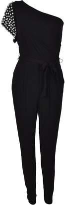 Michael Kors Rhinestone Embellished Jumpsuit