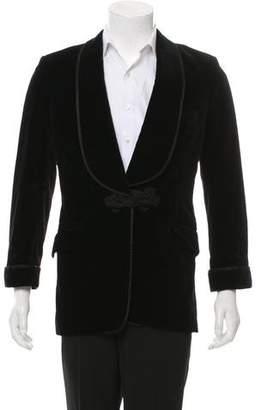 Turnbull & Asser Velour Tuxedo Jacket