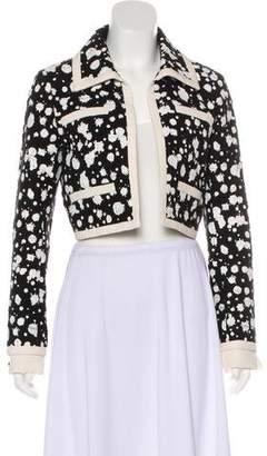 Chanel Splatter Tweed Jacket