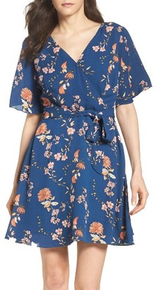 Women's Bb Dakota Laselle Faux Wrap Dress $90 thestylecure.com
