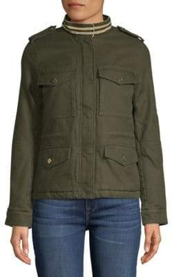 Zadig & Voltaire Kapo Military Cotton Jacket