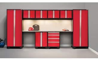 NewAge Products Bold 3.0 10 Piece Garage Storage Cabinet Set with Worktop