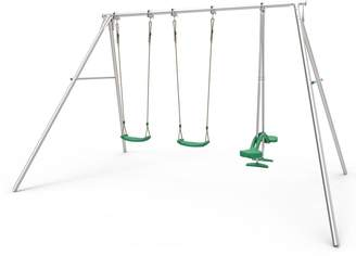 TP Triple Giant Swing Frame with Skyride & 2 Deluxe Swing Seats