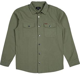 Brixton Men's Nevada Long Sleeve Shirt Jacket