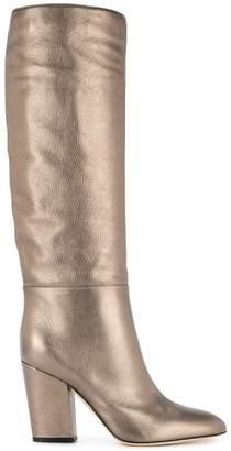 Sergio Rossi Virginia metallic boots