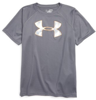 Boy's Under Armour 'Big Logo' T-Shirt