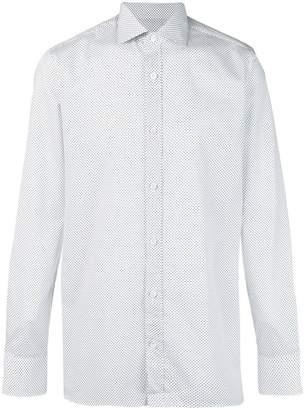 Ermenegildo Zegna dotted pattern shirt