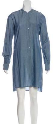 Nili Lotan Chambray Mini Dress