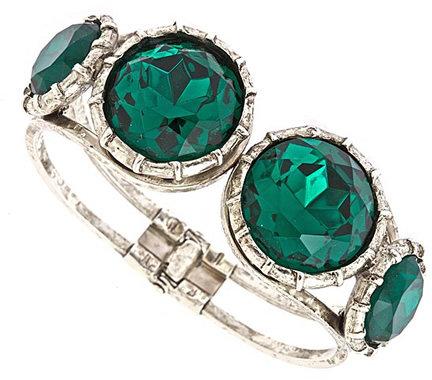 Gerard Yosca Emerald Crystal Bracelet