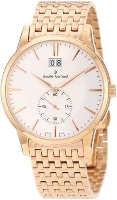 Gents Claude Bernard Men's 64005 37RM AIR Classic Rose Gold PVD Stainless Steel Watch