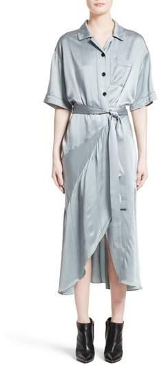 Women's Burberry Emily Silk Shirtdress