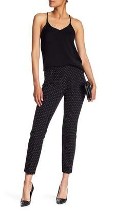 Adrianna Papell Bi-Stretch Slim Fit Crop Pants