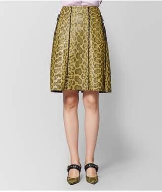 Bottega Veneta Chamomile Anaconda Skirt