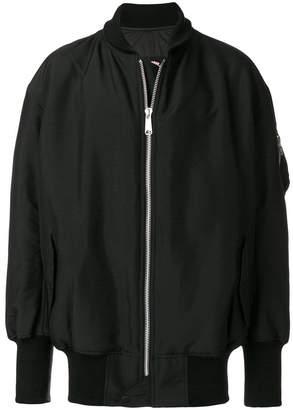 Y-3 Sport Y3 Sport zipped bomber jacket