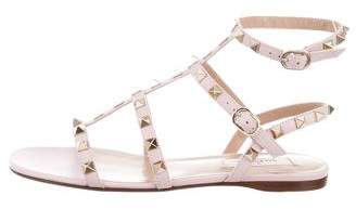 Valentino Rockstud Leather Sandals w/ Tags