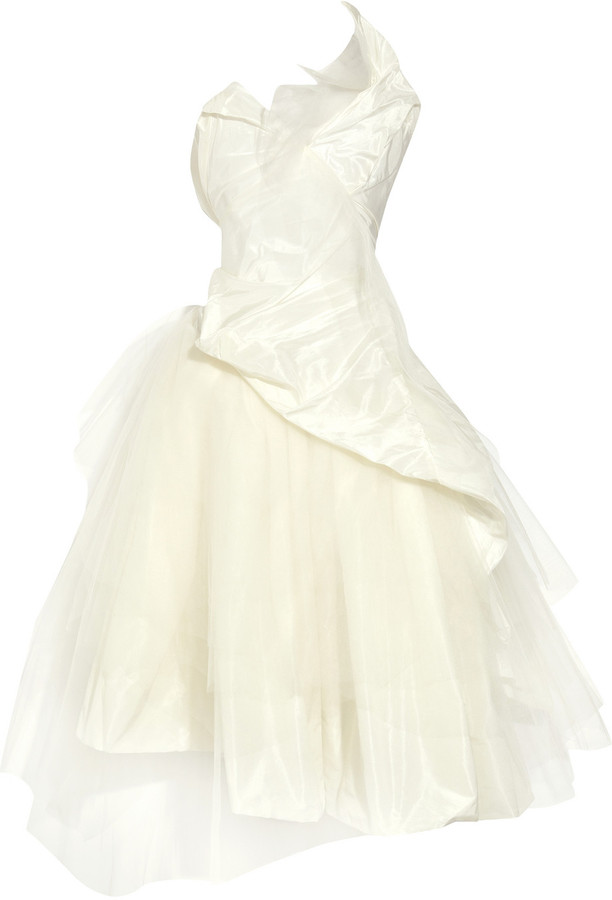 Vivienne Westwood Taffeta and tulle gown