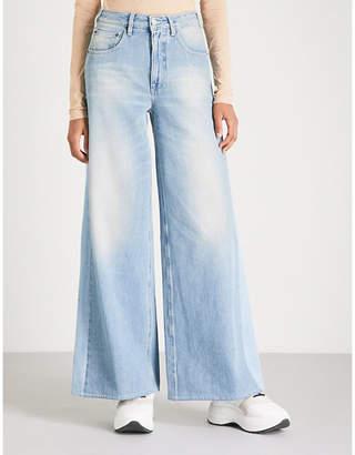 MM6 MAISON MARGIELA Wide high-rise jeans