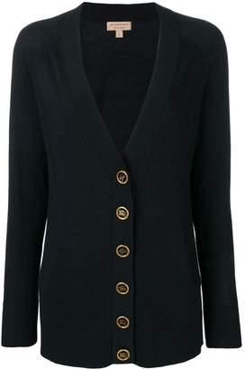 Burberry crest button cashmere cardigan