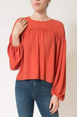 Line & Dot Marais Peasant Blouse