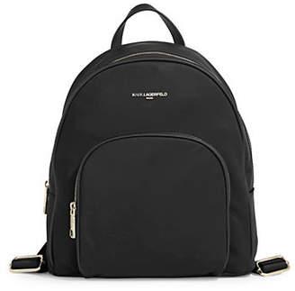 Karl Lagerfeld PARIS Cara Top Zip Backpack
