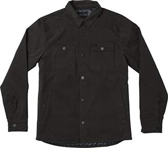 RVCA Men's Utility Shirt Jacket