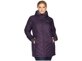 Columbia Plus Size Heavenly Long Hooded Jacket