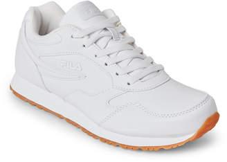 Fila White Classico 18 Jogger Sneakers