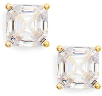 Women's Nordstrom Cubic Zirconia Stud Earrings $46 thestylecure.com
